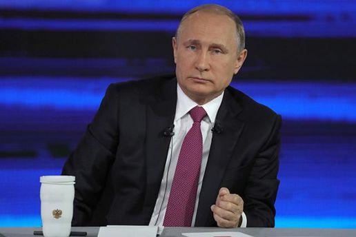 Путін прокоментував слова Порошенка про