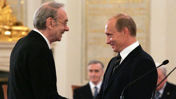 Олексій Баталов і Володимир Путін
