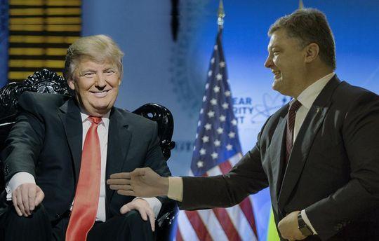ВМИД Украины подтвердили встречу Трампа иПорошенко