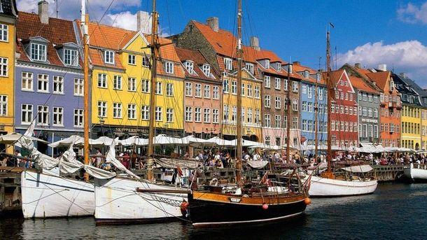 Данію визнали найдорожчою країною ЄС