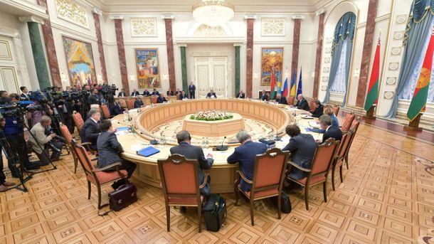 Переговоры по Минскому формату