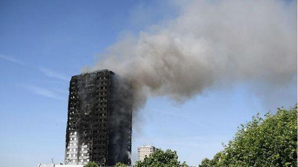 Пожежа у Лондоні