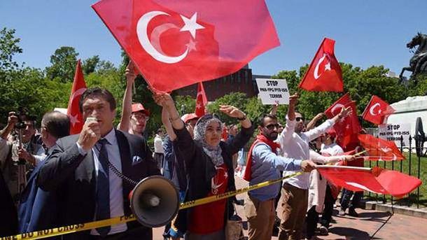 Протести у Вашингтоні