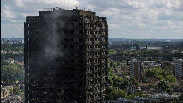 Пожежа у лондонській багатоповерхівці