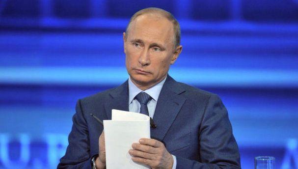 Путин во время прямой линии был похож на
