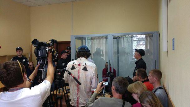 Судебное заседание над Ярославом Тарасенко