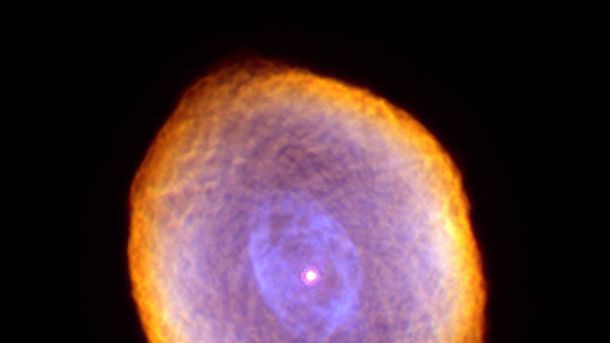 В NASA зафиксировали удивительное фото туманности Спирограф