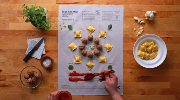 IKEA за допомогою малюнків вчить готувати на кухні