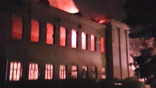 ЗМІ: Вбудівлі Міноборони прогримів вибух