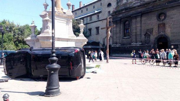 Смертельна аварія у Львові