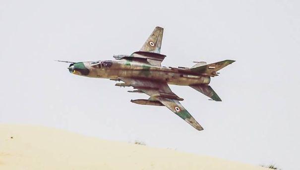 Американська армія збила військовий літак Су-22 вСирії