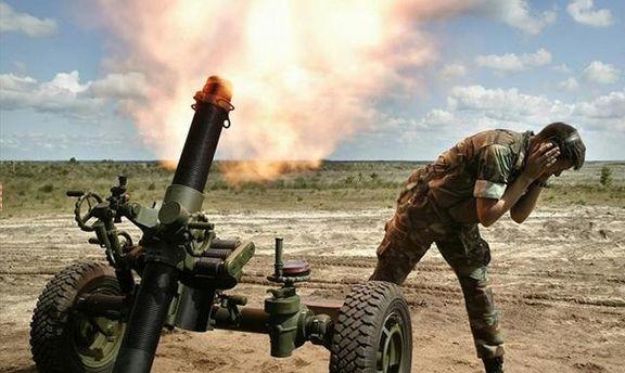 В зоне АТО боевики стреляют из запрещенного оружия