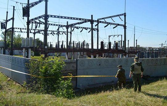 В Донецкой области неизвестные пытались подорвать электроподстанцию