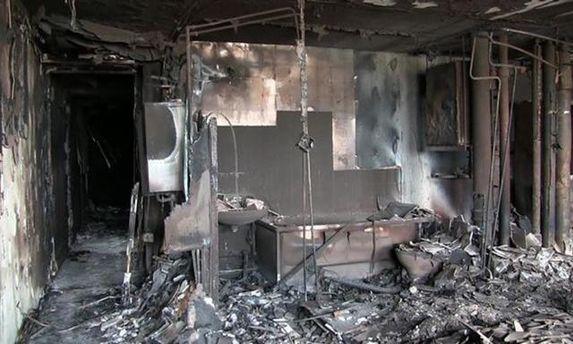 Кадры из небоскреба в Лондоне, где случился большой пожар