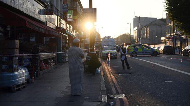 Місце наїзду на натовп прихожан у Лондоні