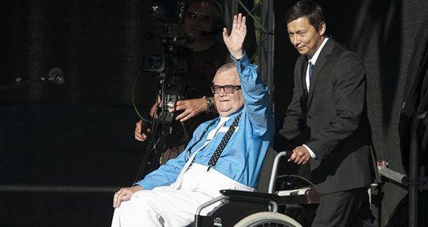Едгар Савісаар прибув на суд в інвалідному візку