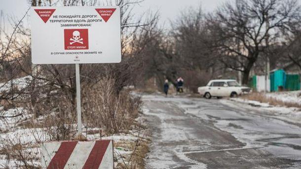 Возле Горловки подорвался грузовик с гражданскими
