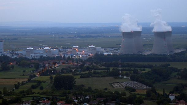 Ядерний реактор АЕС загорівся у Франц