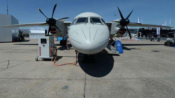 Ан-132D на авиашоу в Париже