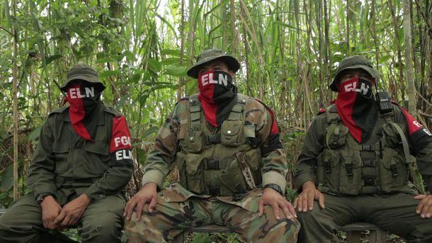 Представники угруповання ELN