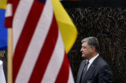 Петр Порошенко поехал с рабочим визитом в США