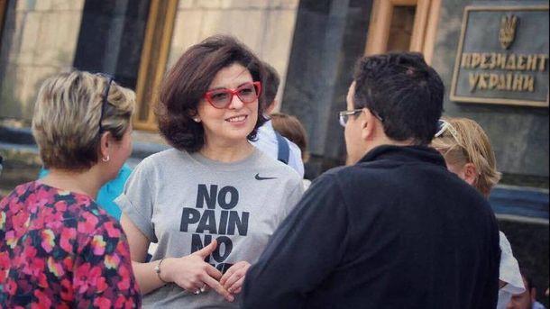 Оксана Сироїд оголосила голодування
