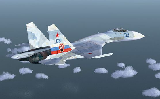 Російський Су-27 спробував спровокувати літак-розвідник зі США