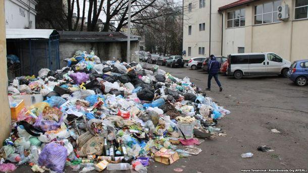 Мусорная блокада Львова