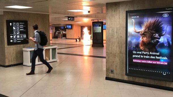 Вибух пролунав на вокзалі у Брюсселі: поліція ліквідувала смертника