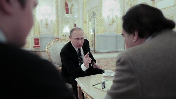 Путін показав американському режисеру фейкове відео