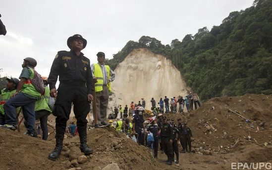 Зсув в Гватемалі