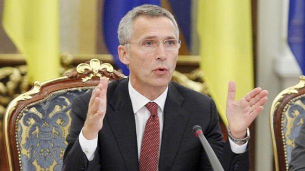 Генсек НАТО едет в Украину