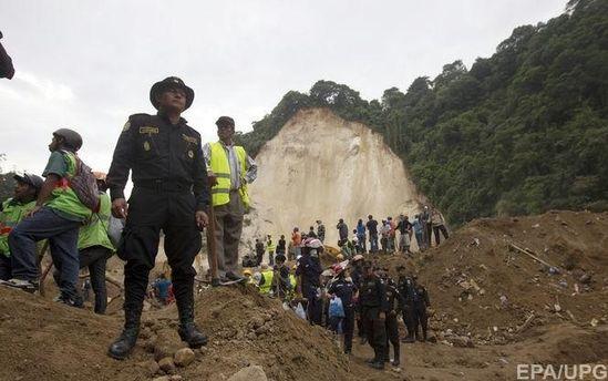 Огромный оползень вГватемале забрал жизни 11 человек