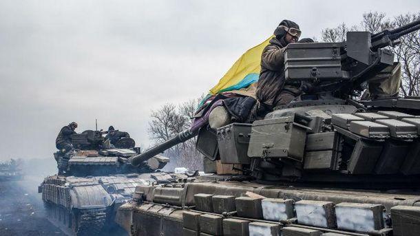 Украинские военные в Донбассе, Авдеевка, 2017