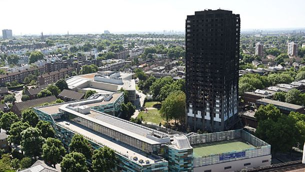 Постраждалим у лондонській пожежі купили квартири