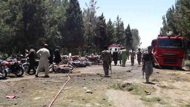 Вибух в Афганістані (Фото з місця події)