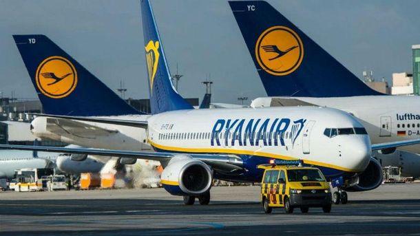 Лоукост Ryanair зайдет в Украину уже осенью