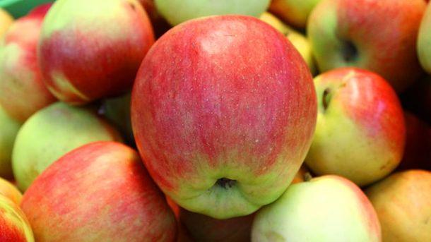 Яблука очищають організм