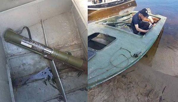 В Киевской области задержаны правонарушители с оружием