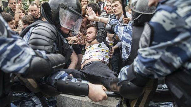 УМоскві затримали главу передвиборного штабу Навального