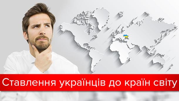 Как украинцы относятся к России и другим странам мира: результаты исследования
