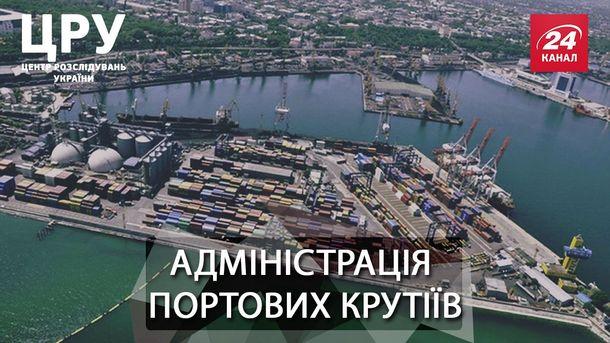Махнац у портах та росйськ зЂязки головного портового чиновника крани