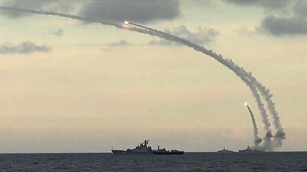 Ракетні пуски з кораблів у Росії