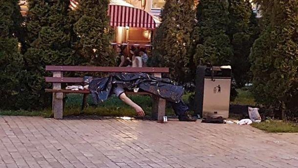 Вбивство бійця АТО в Києві біля Золотих Воріт
