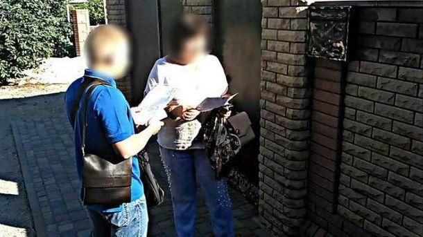 СБУ задержала шпионку террористов