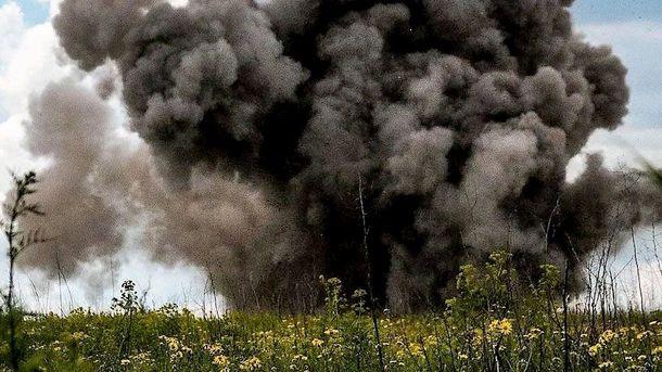 Боевики пытались идти внаступление врайоне Бахмутской дороги