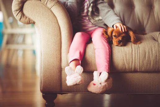Собаки позитивно впливають на здоров'я дітей