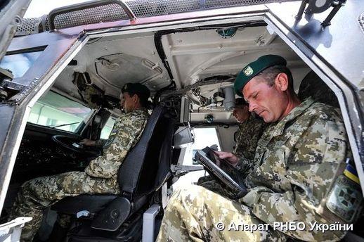 Открытие отдела пограничной службы