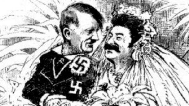 Главное, что делает СССР и нацистскую Германию близнецами-братьями – фашистская идеология