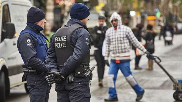 Поліція в Брюсселі